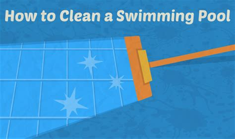 how to clean in how to open an above ground pool in 10 steps