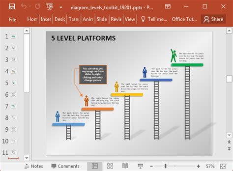 Animated Stage Diagram Maker Powerpoint Template Animated Timeline Maker