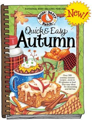 america s comfort foods gooseberry patch books review gooseberry patch easy autumn cookbook