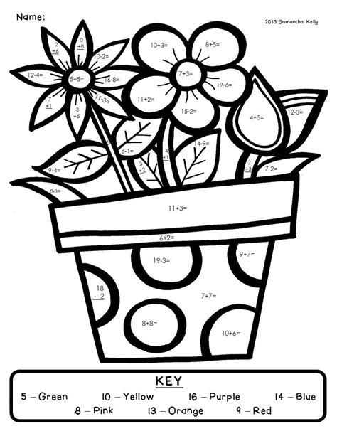 educational coloring pages for 3rd graders mrs kelly s klass spring please and a freebie