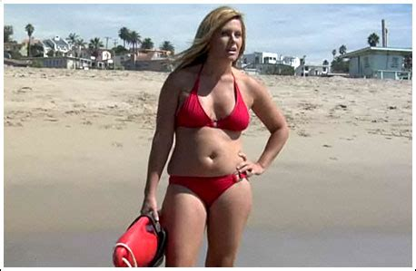 Funny or die nicole eggert is back in baywatch in case you didn t