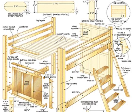 bed plans bed plans diy blueprints