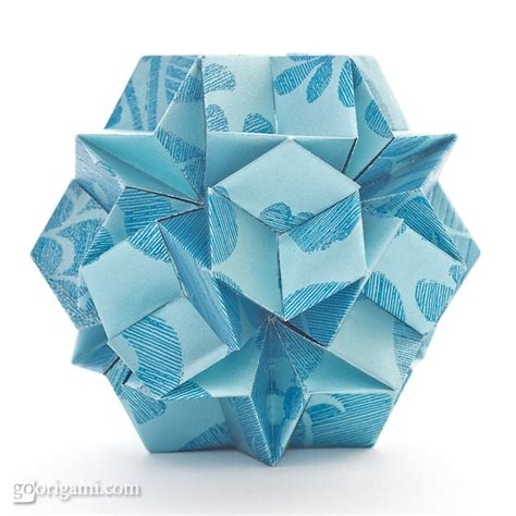 Modular Origami Balls - by jeannine mosely modular origami go origami
