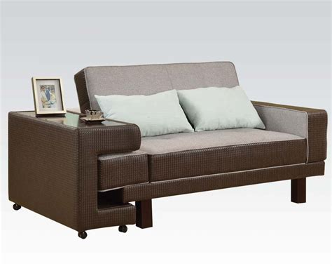 Futon Sectional Sofa Acme Furniture Futons And Adjustable Sofa Ac57124