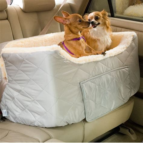 puppy car seats snoozer large lookout car booster seat care 4 dogs on the go