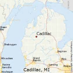 Map Cadillac Michigan Best Places To Live In Cadillac Michigan