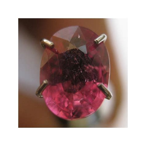 Sapphire Tajam batu permata safir oval 1 30 carat warna pinkish