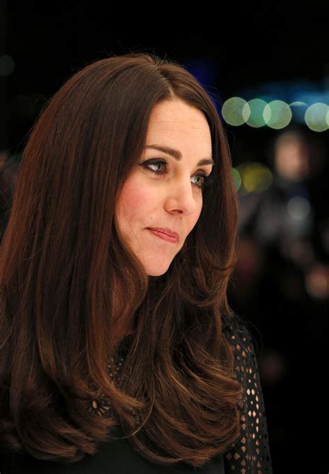 is kate middletons hair mahogany kate middleton scored the perfect brown hair color kate