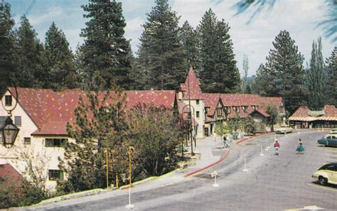 lake arrowhead postcard 1955 collectors weekly