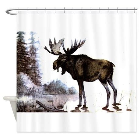 moose shower curtains shower curtains fabric shower curtains bathroom shower