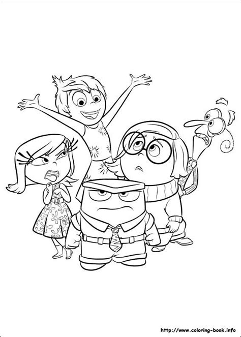 inside out feelings coloring pages inside out disegni da stare e colorare