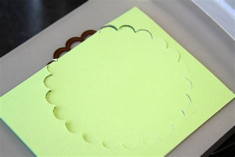 How To Make A Paper Cutting Die - how to make easy handmade cards with die cuts