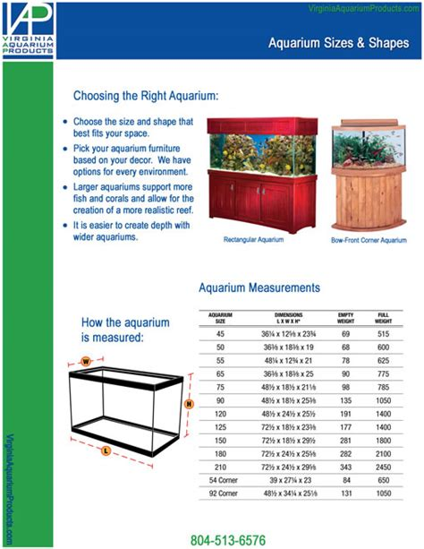 fish tank dimensions 28 images fish tank sizes
