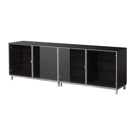 besta glass top besta sideboard ikea basement pinterest ikea