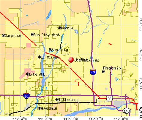 glendale arizona us map glendale arizona az profile population maps real