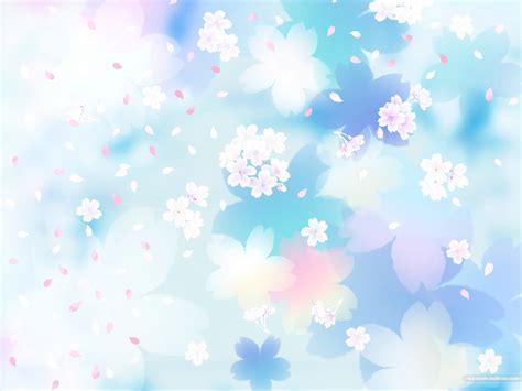 漂亮的樱花花瓣背景图片素材 31p 中国photoshop资源网 Ps教程 Psd模板 照片处理 Ps素材 背景 Flower Blue Patterns Ppt Backgrounds