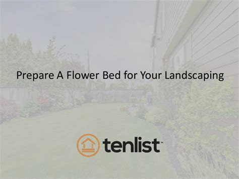 how to prepare a flower bed how to prepare a flower bed for your landscaping