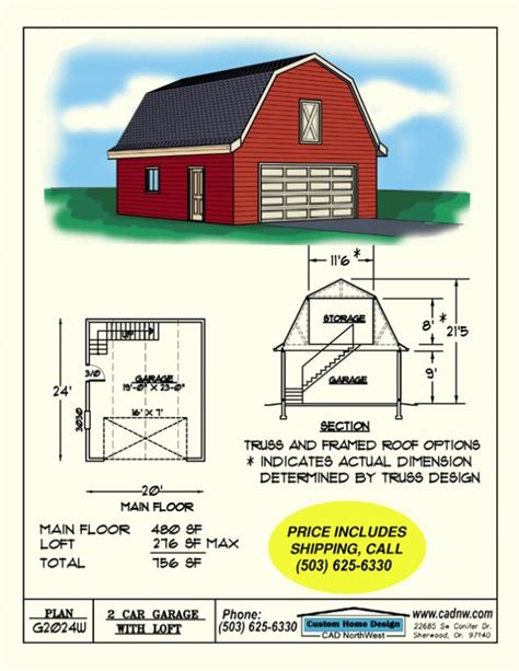 car barn plans 2 car barn style gambrel roof garage with loft favething com