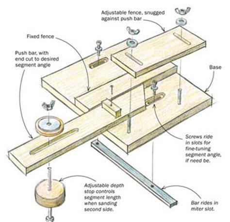 sanding jig   segmented turners secret weapon