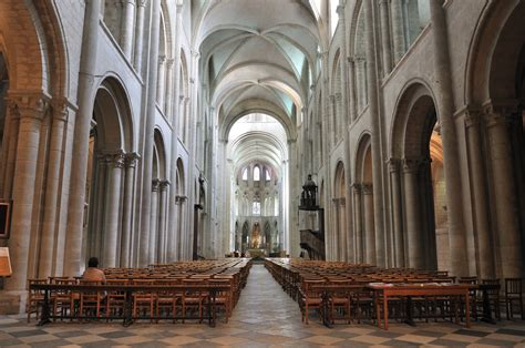 romanesque cathedral interior www imgkid the image