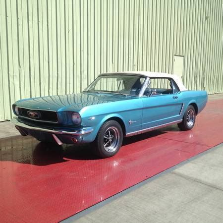 1965 ford mustang convertible with a/c mint condition for
