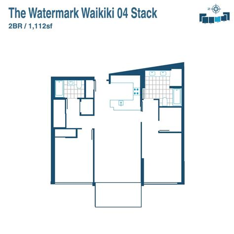 watermark floor plan watermark condos for sale in waikiki 1551 ala wai blvd