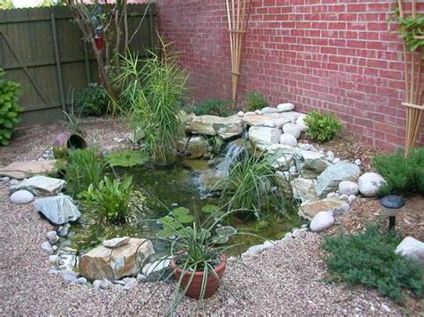 Garden Pond Ideas For Small Gardens Water Garden Ideas Photos House Beautiful Design