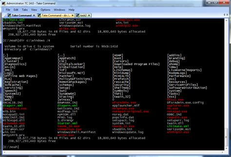 list theme line dos bat file command reference download free spellsmith