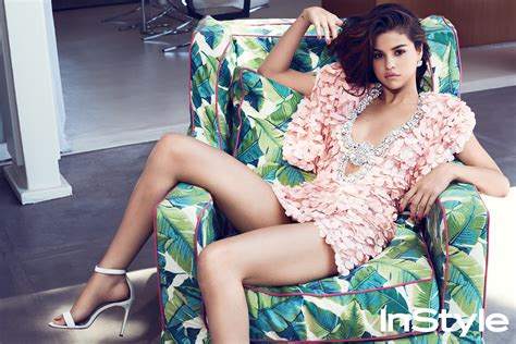 As Seen In Legs Are Instyle by Selena Gomez Talks Therapy In Instyle S September Issue