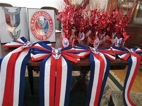 Eagle Scout Ceremony Decoration Ideas by Eagle Scout Court Of Honor Display Table