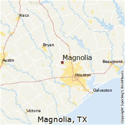 map of magnolia texas best places to live in magnolia texas