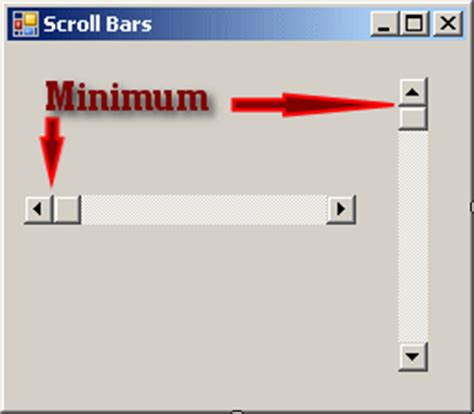 devexpress layout view vertical scroll microsoft visual c lesson 29 track bars and scroll bars