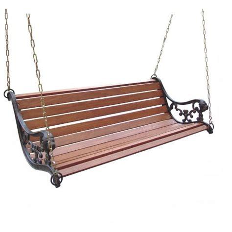 bench converter convert porch swing to a bench hometalk