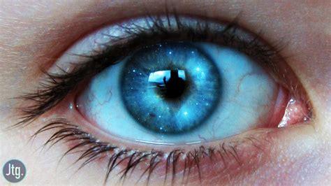 blue light effect on eyes photoshop cc tutorial galaxy eye photo manipulation