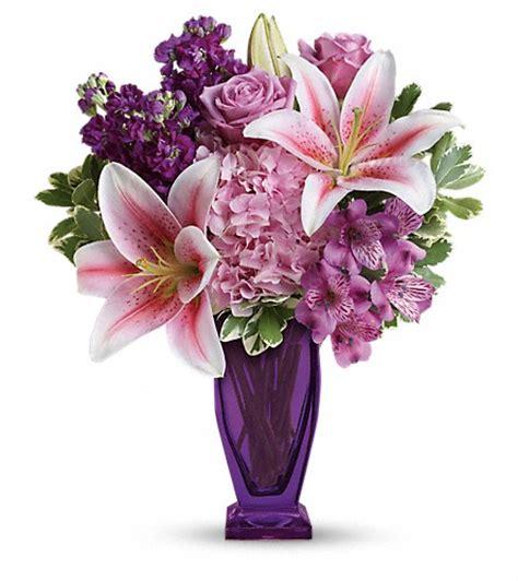 Teleflora Florist by Teleflora S Blushing Violet Bouquet In Atlanta Ga Emory
