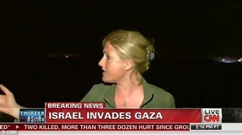 cnn reporter calls israelis who gathered to watch gaza cnn reporter calls cheering israelis quot scum quot at ask trapper