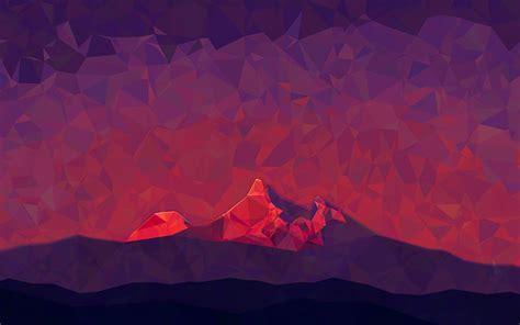 background pattern mountain triangle mountains hd desktop wallpaper widescreen