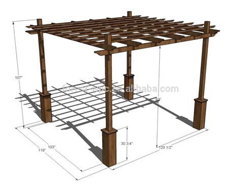 build a simple pergola pergolado de madeira como fazer
