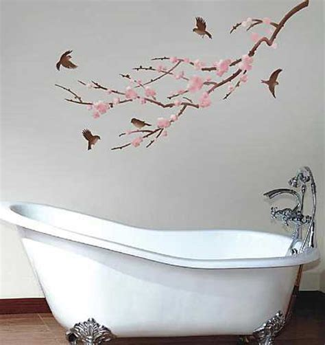 bathroom wall stencil ideas 20 beautiful diy interior decorating ideas using stencils