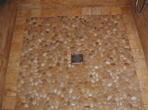 Pebble Bathroom Tiles Bathroom Tile Pebble Shower Floor