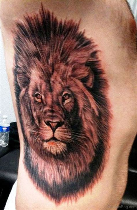 lion side tattoo 42 tattoos for rib