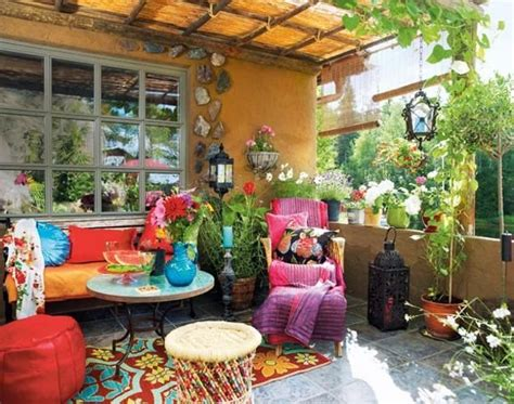 Backyard Decoration Ideas 20 Awesome Bohemian Porch D 233 Cor Ideas Digsdigs