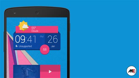 best android clock widget best new android widgets february 2015
