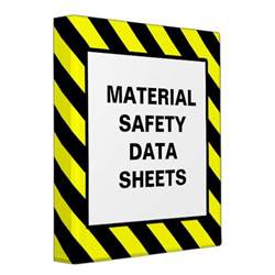 Msds Cover Sheet Template by Avery Msds Binders Zazzle
