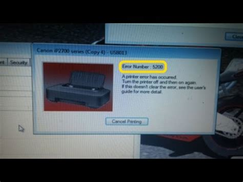 cara reset memori printer canon ip2770 youtube terbaru cara mengatasi printer canon ip2770 quot error 5200