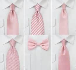 wedding tie in rose