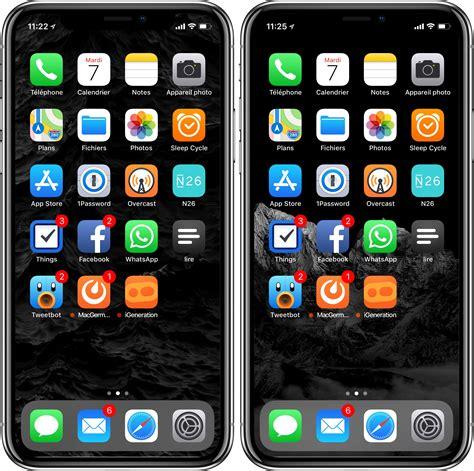iphone x un fond d 233 cran pour cacher l encoche et des fonds optimis 233 s pour l oled igeneration