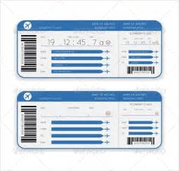 Boarding Ticket Template by Sle Boarding Pass 9 Documents In Pdf Psd Vector