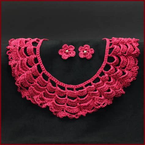 pattern crochet lace collar vintage inspired lace collar allfreecrochet com