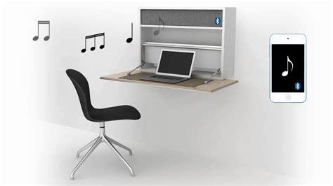 scrivania a muro boconcept cupertino scrivania a muro salvaspazio